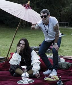 Jalil Lespert directs George Blagden's Louis XIV. All Versailles images © Tibo et Anouchka/Capa Drama/Zodiak Fiction/Incendo/Canal+