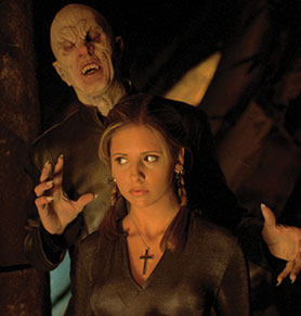 DeKnight is full of praise for Joss Whedon, with whom he worked on such shows as Buffy the Vampire Slayer (pictured)