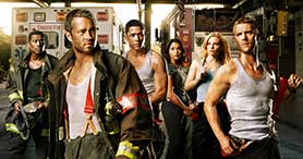 NBC has commissioned Chicago Med, a second spin-off from Chicago Fire (pictured)