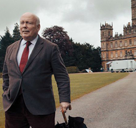 Julian Fellowes walks away from the Downton Abbey set