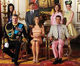 E! is following up its first drama, The Royals (pictured), with a new project called The Arrangement