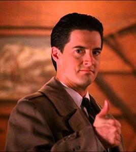 Kyle MacLachlan as Twin Peaks' Dale Cooper