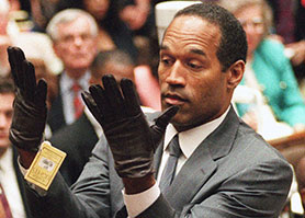 The trial of OJ Simpson (pictured) is to be dramatised on FX