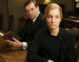 Downton Abbey's Joanne Froggatt (right) will star in ITV's Dark Angel
