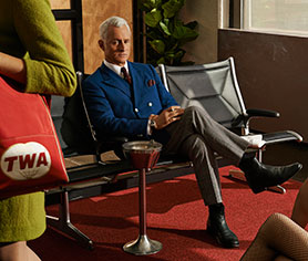 AMC's acclaimed drama Mad Men