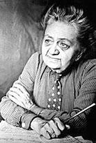 Croatian author Marija Jurić Zagorka