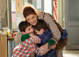 Debra Messing in The Mysteries of Laura