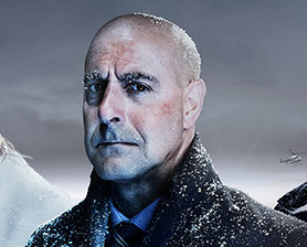 Stanley Tucci as he appears in Fortitude