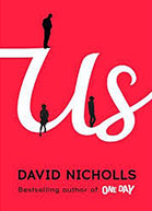 US is the first of David Nicholls' novels to be adapted for TV, with two previous books having been made into movies