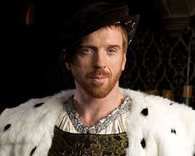 Homeland star Damian Lewis plays Henry VIII