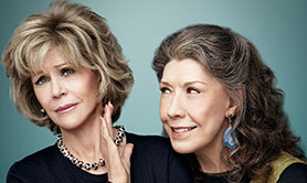 Grace and Frankie, from Marta Kauffman, will return for a second season