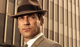 Mad Men starred Jon Hamm as Don Draper