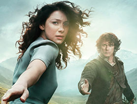 Outlander has generated substantial social media chatter