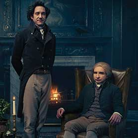 Jonathan Strange & Mr Norrell, based on Susanna Clarke's book