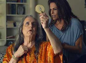 Transparent, starring Jeffrey Tambor as its transgender central character