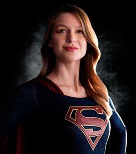 Melissa Benoist plays the lead in Warner Bros' Supergirl