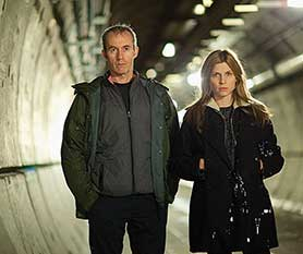 Anglo-French copro The Tunnel was adapted from Danish drama The Bridge