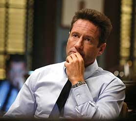 David Duchovny in Aquarius
