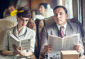 Partners in Crime opened strongly for BBC1 on Sunday evening