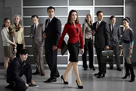 Robert and Michelle King, creators of The Good Wife (pictured), are working on BrainDead for CBS