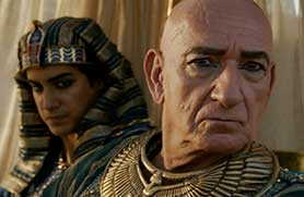 Tut stars Oscar winner Ben Kingsley (right)