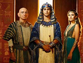 Egyptian drama Tut has just launched on Spike
