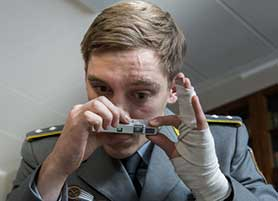 Deutschland 83 has attracted between 70,000 and 100,000 viewers