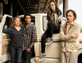 Unlike The Walking Dead, Fear the Walking Dead will also premiere on AMC's international channel AMC Global