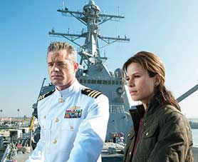 The Last Ship, starring Eric Dane and Rhona Mitra