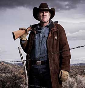 Netflix came to Longmire's rescue after it was cancelled by A&E