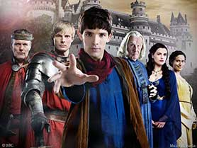 Overman wrote 11 episodes of Merlin