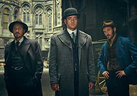 Ripper Street's fourth season is in production