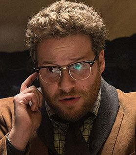 Seth Rogen in controversial movie The Interview
