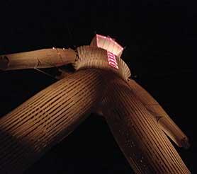 The Burning Man himself