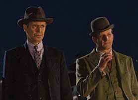 Johns and Jermyn cite Boardwalk Empire among the kind of 'big, bold' series they both watch and want to make