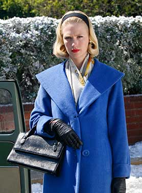January Jones as Mad Men's Betty Draper