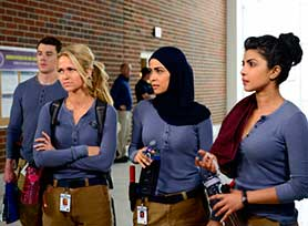 Quantico has earned praise for its diverse cast