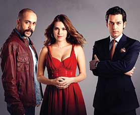 Game of Silence is a remake of Turkish series Suskunlar, pictured