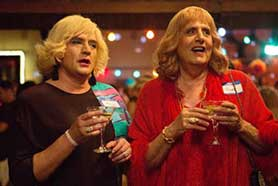 Transparent, starring Jeffrey Tambor (right) has won critical acclaim