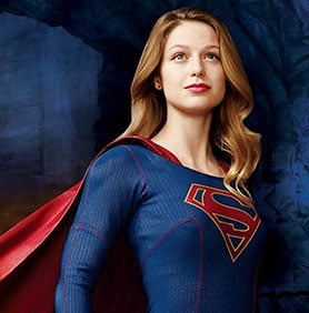 Supergirl, starring Melissa Benoist, premiers on October 26