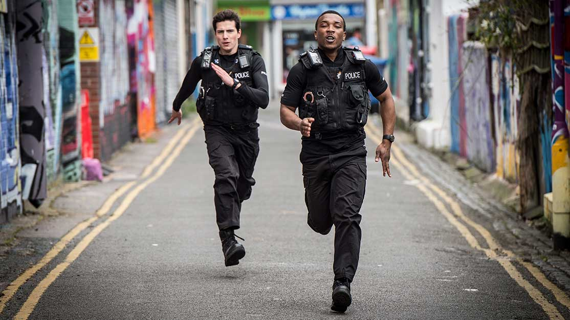 A cop show with a difference: DQ gets to grips with Cuffs