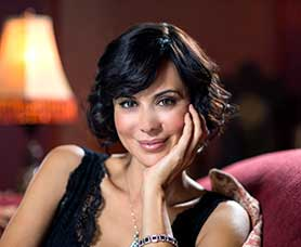 Tenney says viewers love the 'beauty, strength and wisdom' of Catherine Bell (pictured)
