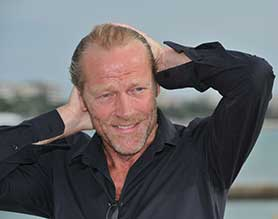 Iain Glen attended to support Cleverman