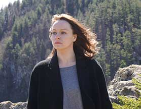 British actor Samantha Morton plays a lead role