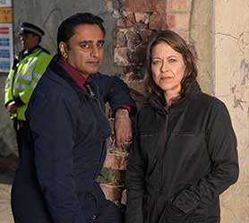Unforgotten stars Sanjeev Bhaskar and Nicola Walker as a pair of detectives