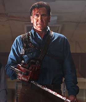 Starz zombie drama Ash vs Evil Dead was shot in New Zealand