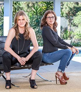 Jane Tranter (left) and Julie Gardner of Bad Wolf