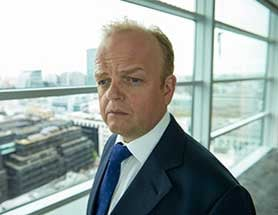 Toby Jones in BBC1's Capital