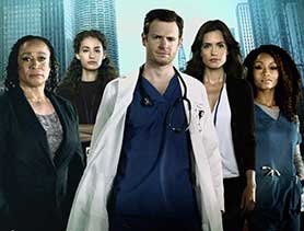 Chicago Med, one of NBC's trilogy of Chicago drama series
