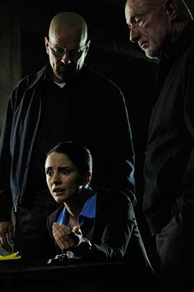 Fraser as Lydia in Breaking Bad